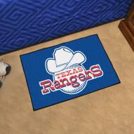 Texas Rangers Starter Rug