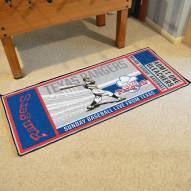 Texas Rangers Ticket Runner Rug