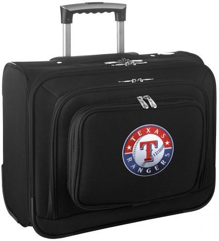 Texas Rangers Rolling Laptop Overnighter Bag