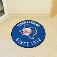 Texas Rangers Roundel Mat