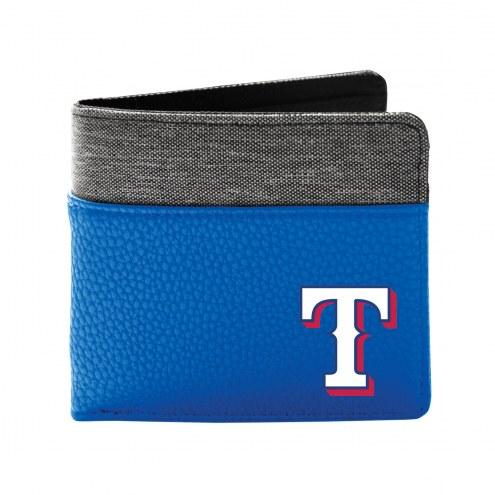 Texas Rangers Pebble Bi-Fold Wallet