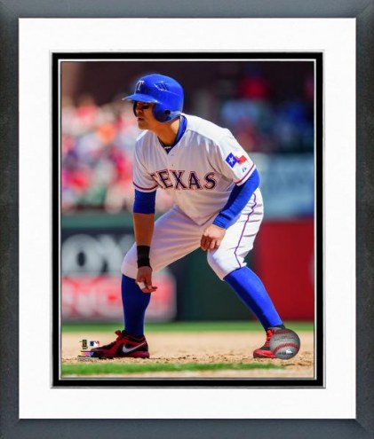 Texas Rangers Shin-Soo Choo Action Framed Photo
