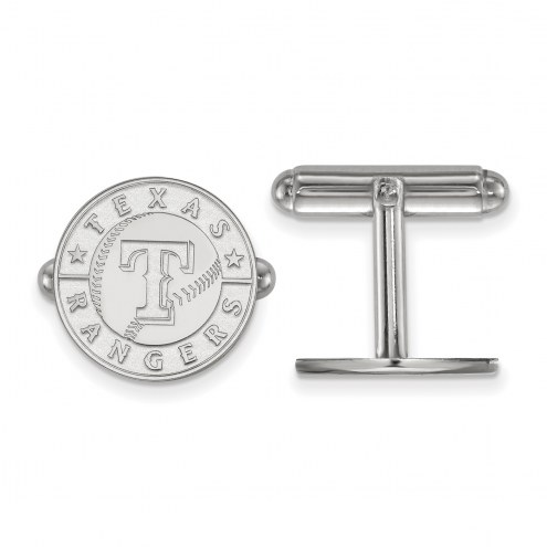 Texas Rangers Sterling Silver Cuff Links