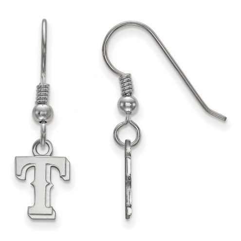 Texas Rangers Sterling Silver Extra Small Dangle Earrings