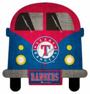 Texas Rangers Team Bus Sign