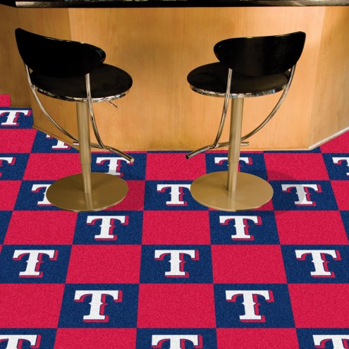 Texas Rangers Team Carpet Tiles