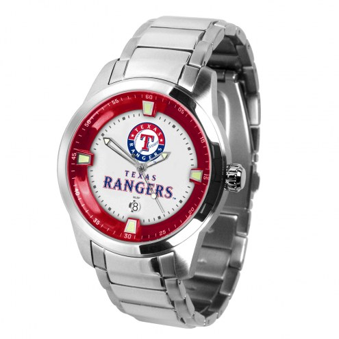 Texas Rangers Titan Steel Men's Watch