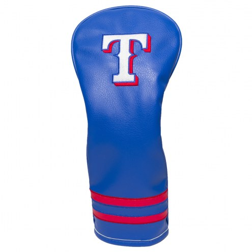 Texas Rangers Vintage Golf Fairway Headcover