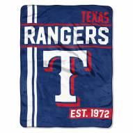 Texas Rangers Walk Off Throw Blanket