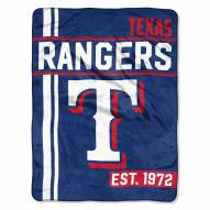 Texas Rangers Walk Off Throw Blanket