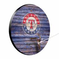Texas Rangers Weathered Design Hook & Ring Game