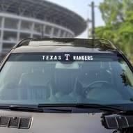 Texas Rangers Windshield Decal