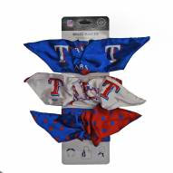 Texas Rangers Wired Hair Tie