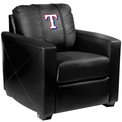 Texas Rangers XZipit Silver Club Chair with Secondary Logo