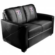 Texas Rangers XZipit Silver Loveseat with Secondary Logo