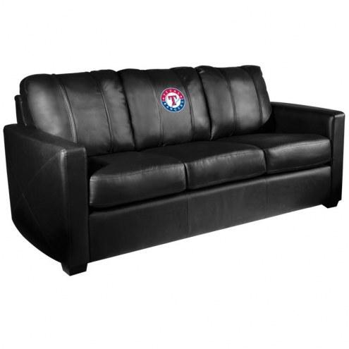 Texas Rangers XZipit Silver Sofa