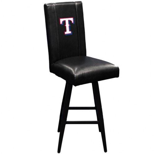 Texas Rangers XZipit Swivel Bar Stool 2000 with Secondary Logo