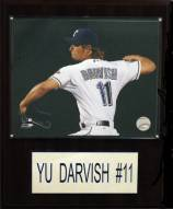 "Texas Rangers Yu Darvish 12"" x 15"" Player Plaque"