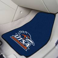 Texas San Antonio Roadrunners 2-Piece Carpet Car Mats