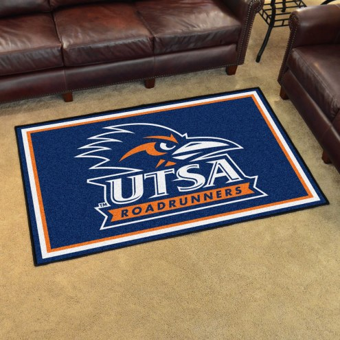 Texas San Antonio Roadrunners 4' x 6' Area Rug