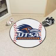 Texas San Antonio Roadrunners Baseball Rug