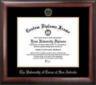 Texas San Antonio Roadrunners Gold Embossed Diploma Frame