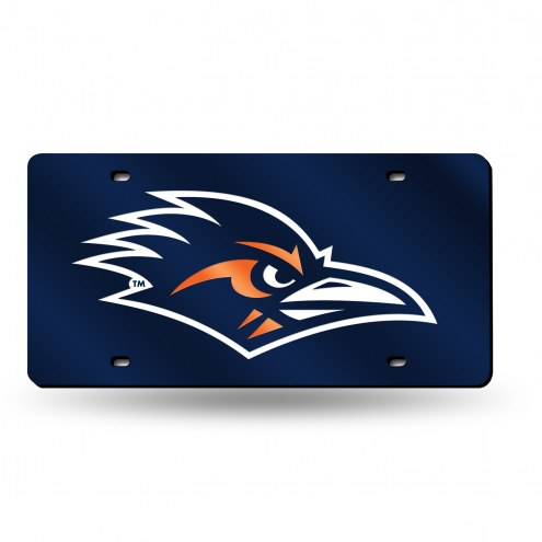 Texas San Antonio Roadrunners Laser Cut License Plate