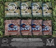 Texas San Antonio Roadrunners Operation Hat Trick Cornhole Bag Set
