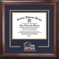 Texas San Antonio Roadrunners Spirit Diploma Frame