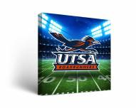 Texas San Antonio Roadrunners Stadium Canvas Wall Art