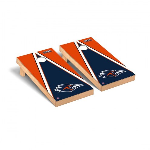 Texas San Antonio Roadrunners Triangle Cornhole Game Set