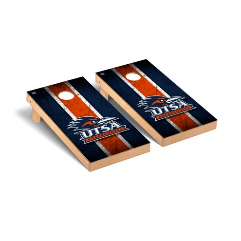 Texas San Antonio Roadrunners Vintage Cornhole Game Set