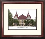 Texas State Bobcats Alumnus Framed Lithograph