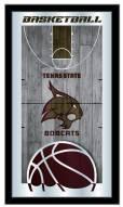Texas State Bobcats Basketball Mirror