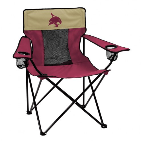 Texas State Bobcats Elite Tailgating Chair