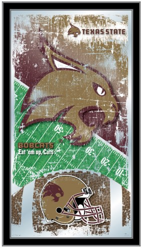 Texas State Bobcats Football Mirror