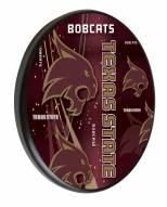 Texas State Bobcats Digitally Printed Wood Sign
