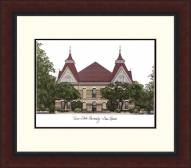 Texas State Bobcats Legacy Alumnus Framed Lithograph