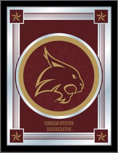 Texas State Bobcats Logo Mirror