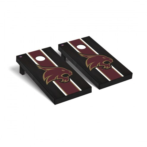 Texas State Bobcats Onyx Stained Cornhole Game Set