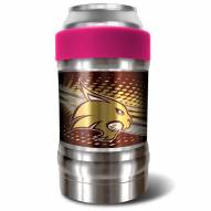 Texas State Bobcats Pink 12 oz. Locker Vacuum Insulated Can Holder