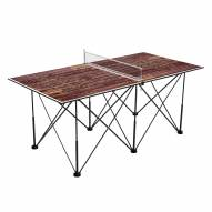 Texas State Bobcats Pop Up 6' Ping Pong Table