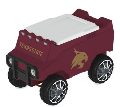 Texas State Bobcats Remote Control Rover Cooler
