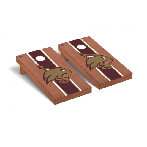 Texas State Bobcats Rosewood Stained Cornhole Game Set