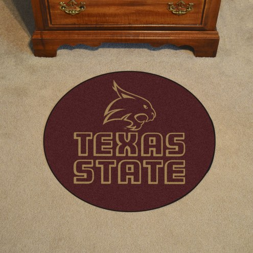 Texas State Bobcats Rounded Mat