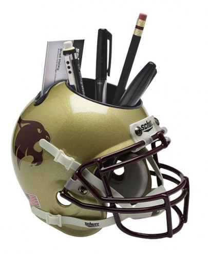Texas State Bobcats Schutt Football Helmet Desk Caddy
