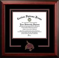 Texas State Bobcats Spirit Diploma Frame