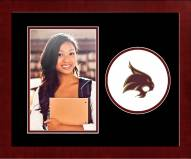 Texas State Bobcats Spirit Vertical Photo Frame