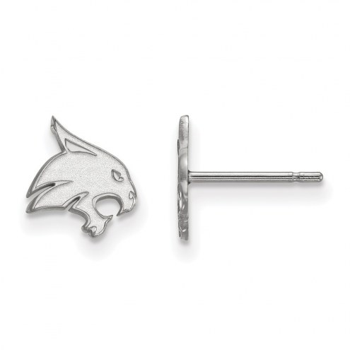 Texas State Bobcats Sterling Silver Extra Small Post Earrings