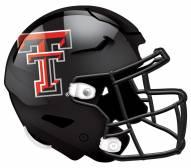 "Texas Tech Red Raiders 12"" Helmet Sign"